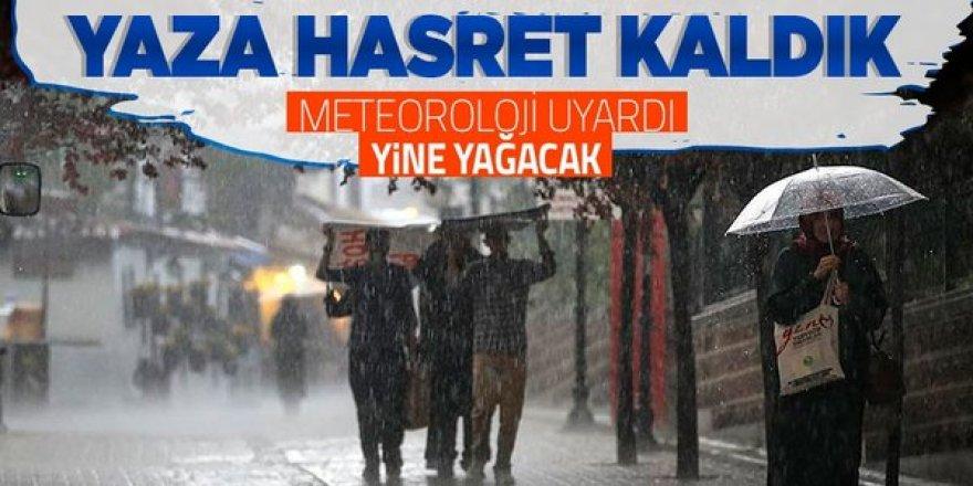 Meteoroloji'den 2 bölge ve 3 şehire sağanak uyarısı