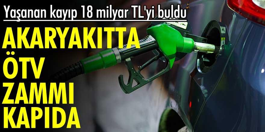 Akaryakıtta ÖTV zammı kapıda