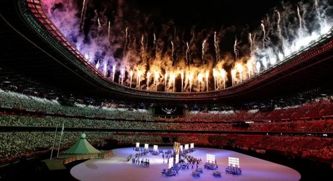 Tokyo 2020 Olimpiyat Oyunları açılış seremonisi yapıldı