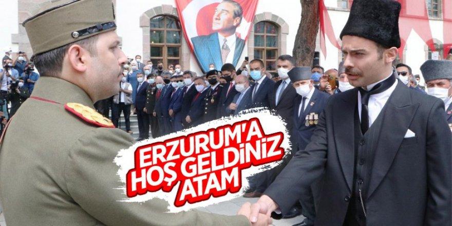 Erzurum'da Tarihi kongre 102 yıl sonra canlandırıldı