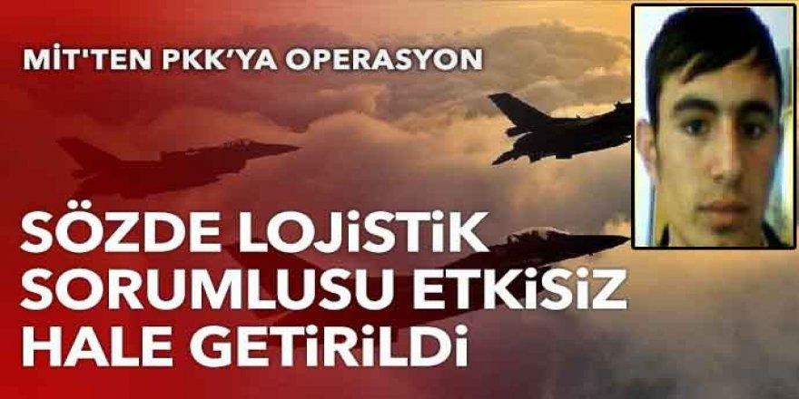 PKK'nın sözde lojistik sorumlusu etkisiz hale getirildi