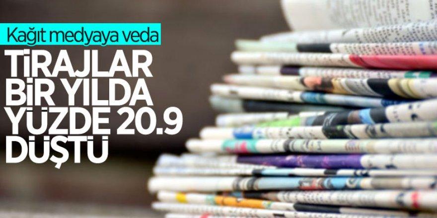 Gazete ve dergi sayısı geçen yıl yüzde 13,5 azaldı