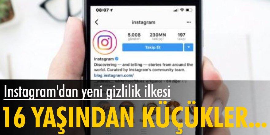 Instagram'dan yeni gizlilik ilkesi