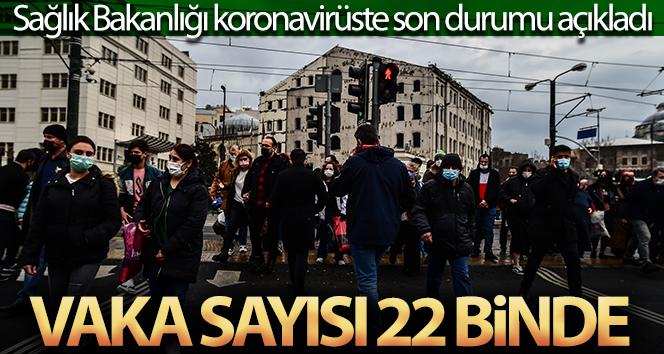 24 saatte korona virüsten 60 kişi hayatını kaybetti