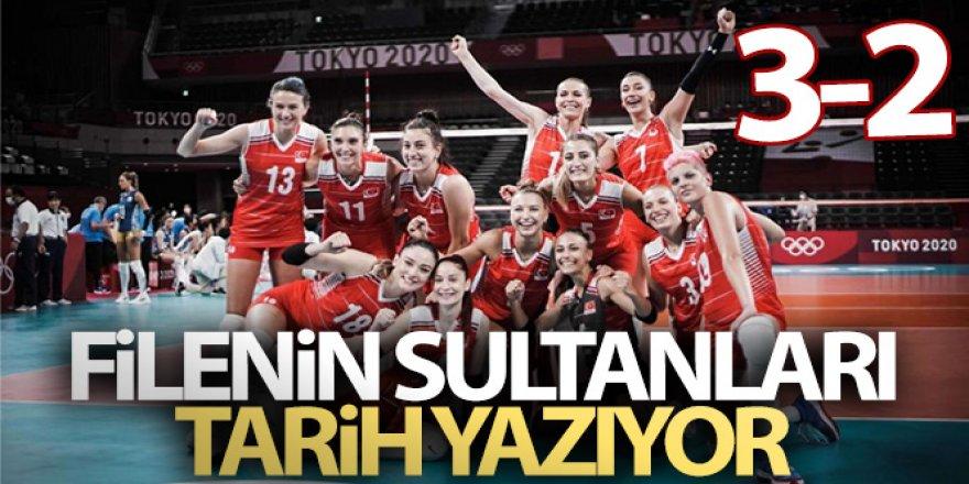 Filenin Sultanları Rusya'yı 3-2 mağlup etti