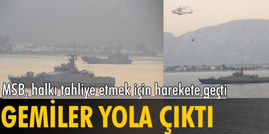 MSB'den Muğla'ya karakol botu ve çıkarma gemisi!