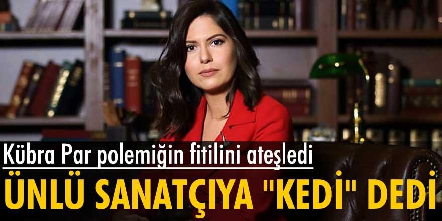 Kübra Par, yangınla ilgili paylaşımları nedeniyle tiyatrocu Emre Kınay'ı ağır ifadelerle hedef aldı