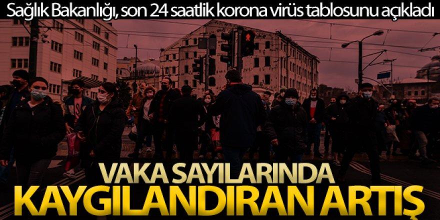 Son 24 saatte korona virüsten 122 kişi hayatını kaybetti