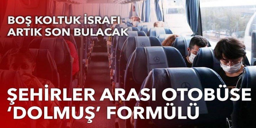 Şehirler arası otobüse dolmuş formülü