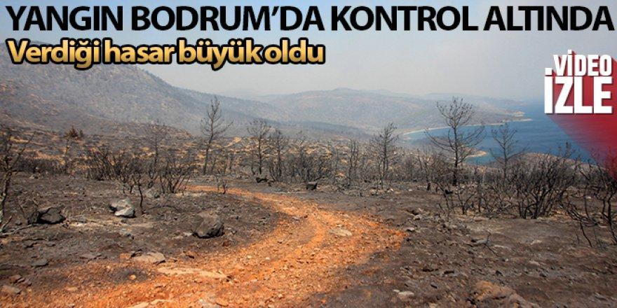 Yangın Bodrum'da kontrol altına alındı