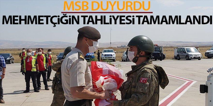 MSB duyurdu! Mehmetçiğin tahliyesi tamamlandı