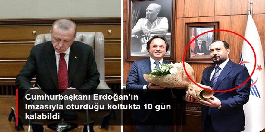 Erdoğan'ın imzasıyla TCDD Genel Müdürlüğüne atanan Murat Atik bir haftada görevden alındı