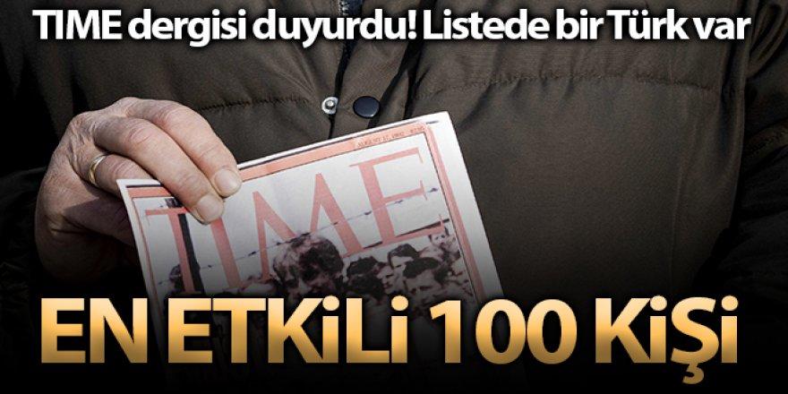 TIME dergisinin 'dünyanın en etkili 100 kişisi' listesinde Türk isim
