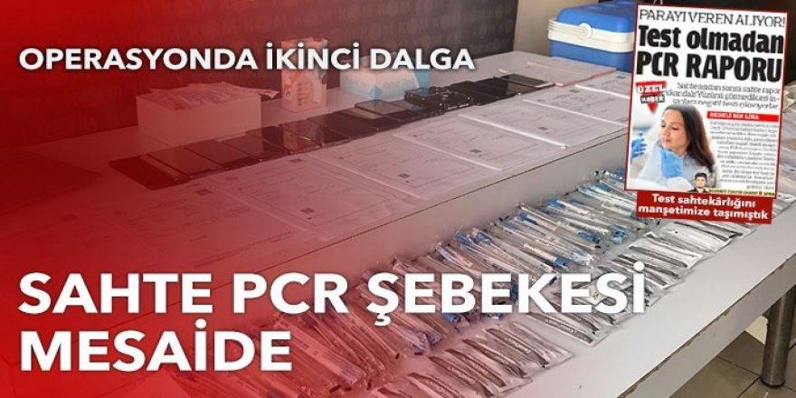 Sahte PCR testiyle milyonluk vurgun