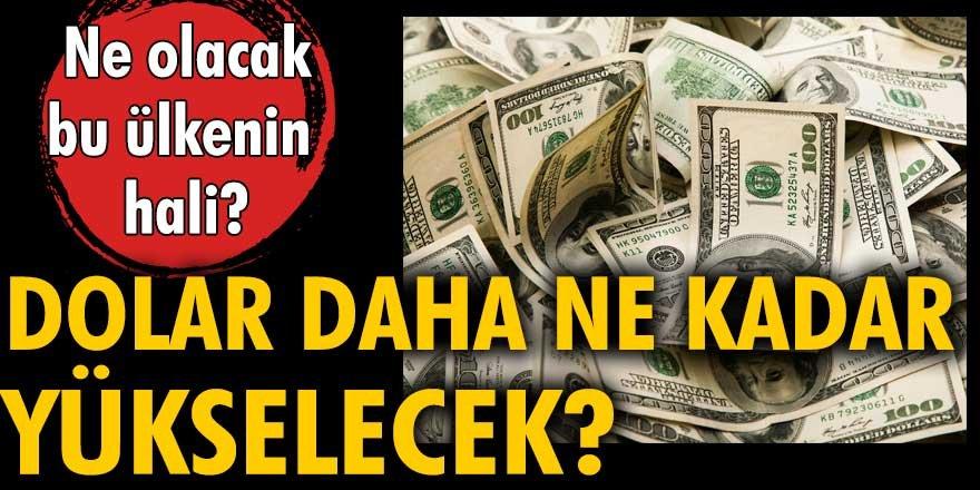 Ne olacak bu ülkenin hali? Dolar daha ne kadar yükselecek?