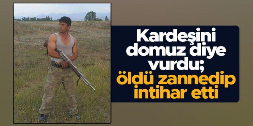 Erzurum dehşet olay: Kazayla kardeşini öldürdü