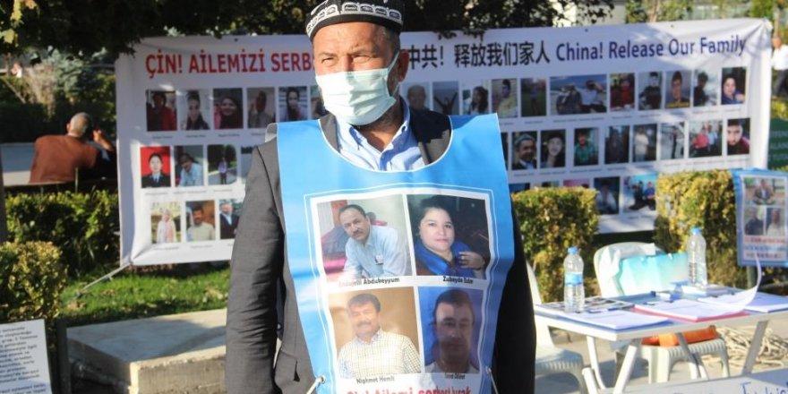 13 kişilik ailesinden 11'i Çin zulmü görüyor