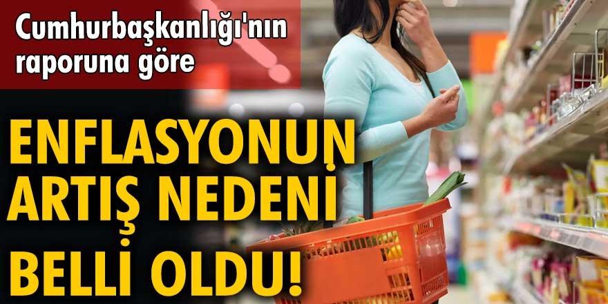 Enflasyondaki yükselişin gıda ve temel mal gruplarından kaynaklandığı açıklandı!