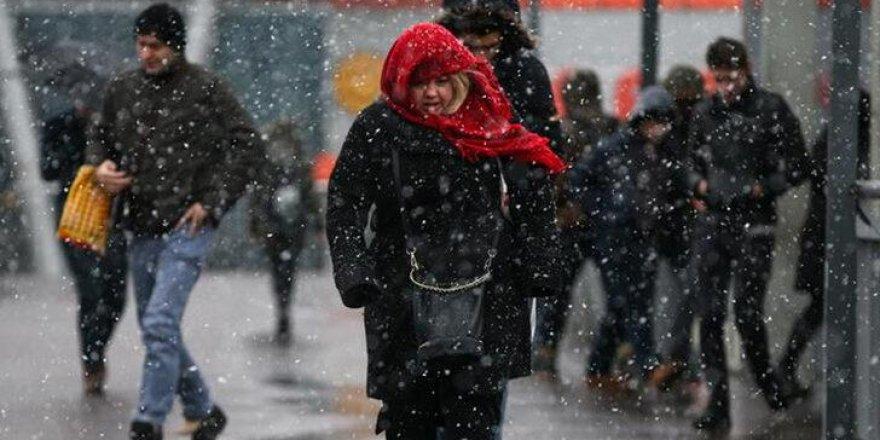Meteoroloji'den sağanak yağış, kar ve dolu uyarısı
