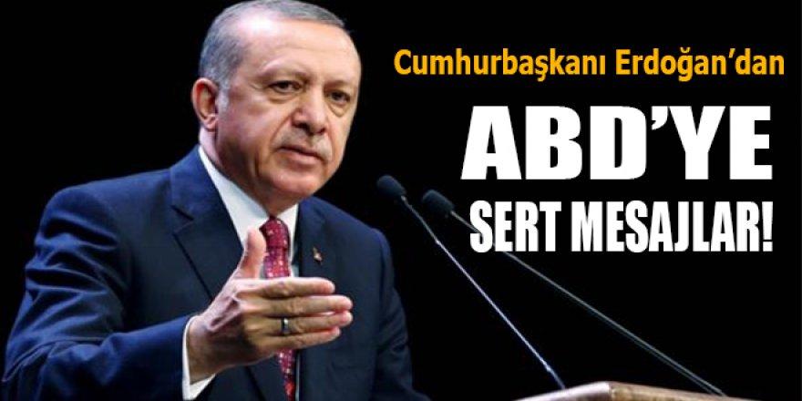Cumhurbaşkanı Erdoğan'dan BM sonrası ABD'ye sert mesajlar