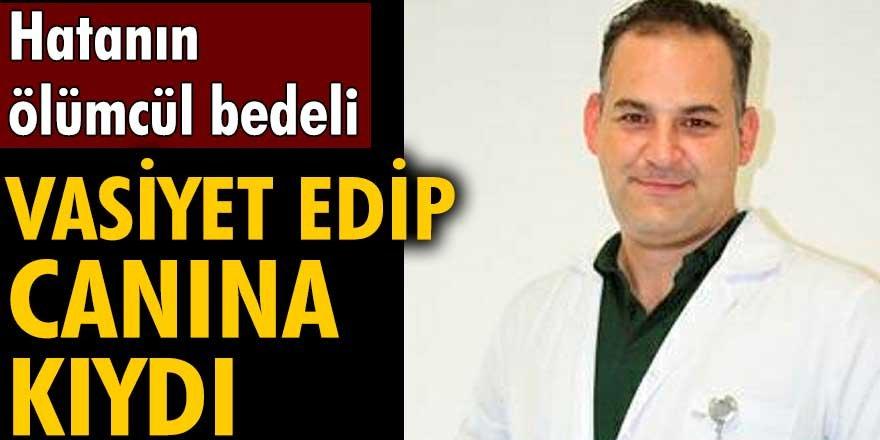 Yalova'da yanlış tedavi yapan doktor Güven Mete böbreğini vasiyet edip intihar etti