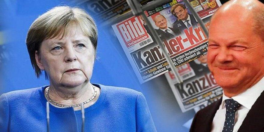 Almanya'daki seçimlerde birinci parti SPD oldu
