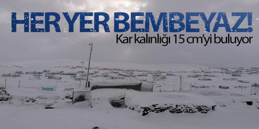 Kar etkili oldu: Yaylacıların dönüş hazırlıkları erken başladı