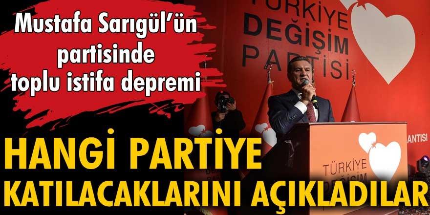 TDP Erzurum il teşkilatında toplu istifa