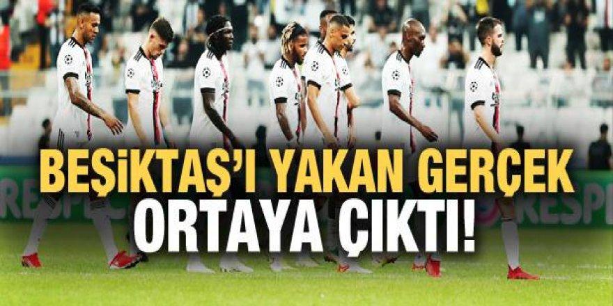 Beşiktaş'ı yakan gerçek ortaya çıktı!