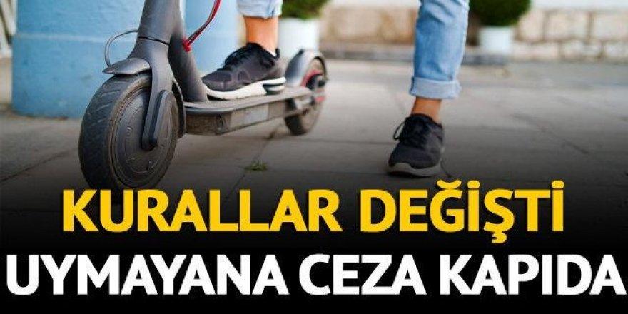 Elektrikli scooter kullananlar dikkat!