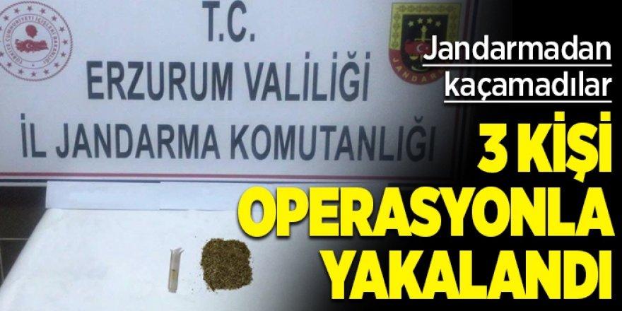Erzurum'da uyuşturucu kullananlara darbe