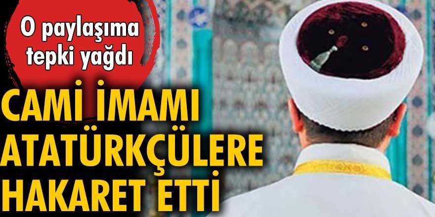 Gelibolu Gazi Süleyman Paşa Camii imamı Atatürk'ü sevenlere hakaret etti