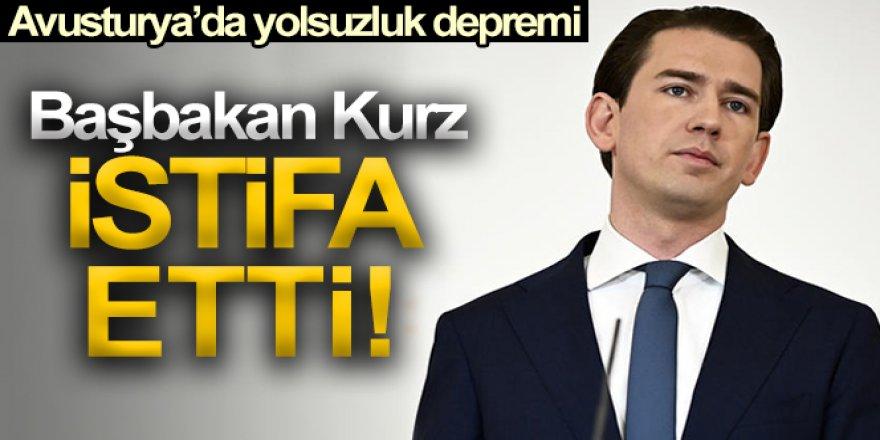 Avusturya Başbakanı Sebastian Kurz istifa etti