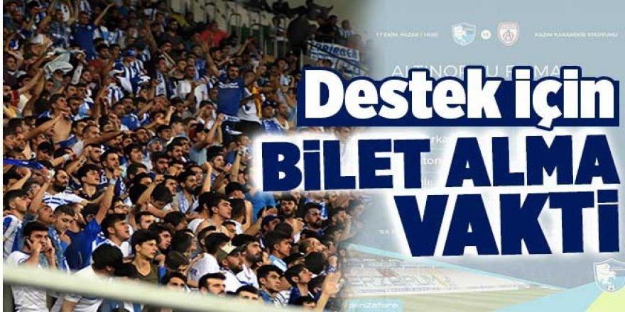 Altınordu FK maçının biletleri satışa çıktı
