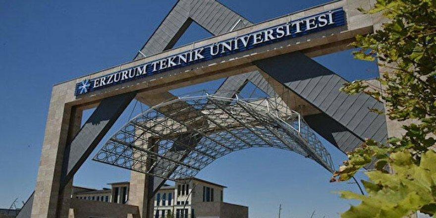 Erzurum Teknik Üniversitesi öğretim üyesi alıyor