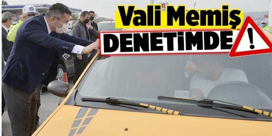 Erzurum Valisi Memiş, Huzur ve güvenlik için sahaya indi!