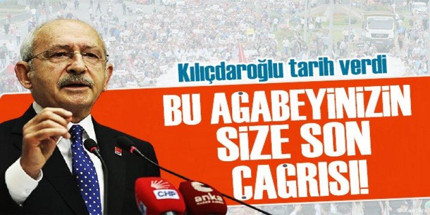 """Kılıçdaroğlu """"son çağrım"""" diyerek seslendi: Sıyrılamazsınız"""