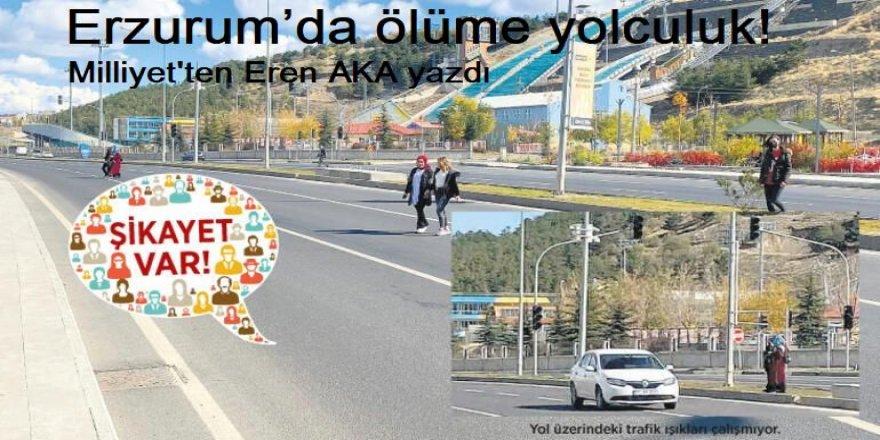 Erzurum'da ölüme yolculuk!