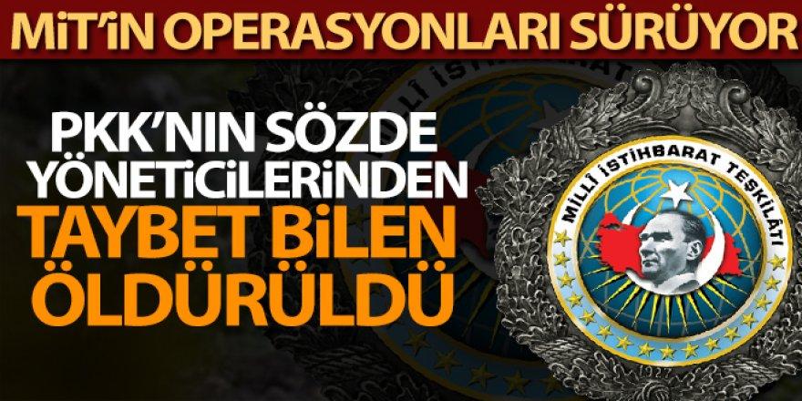 PKK/KCK'nın sözde yöneticilerinden Taybet Bilen öldürüldü