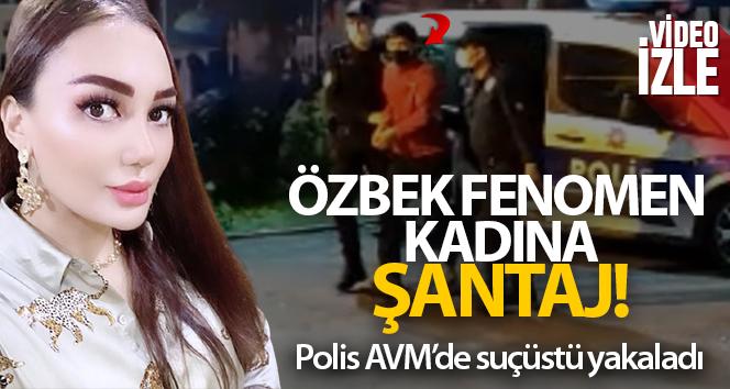 İstanbul'da Özbek fenomen kadına şantaj