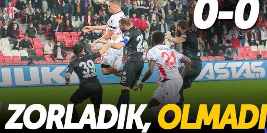 Samsunspor: 0 - BB Erzurumspor: 0