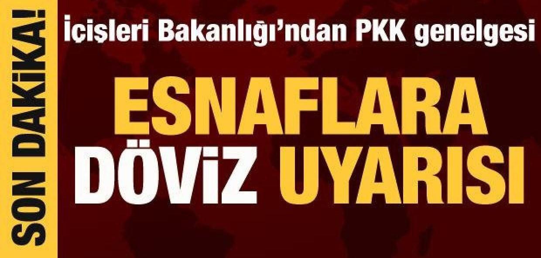 İçişleri Bakanlığından 32 ile 'PKK' genelgesi!