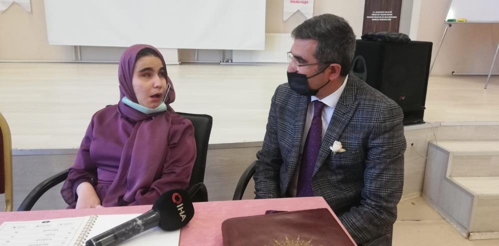 En büyük hayali Cumhurbaşkanı Erdoğan'ın yanında Kuran-ı Kerim okumak