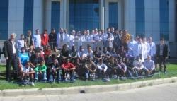Afrikalı Öğrencilerden Veda Ziyareti