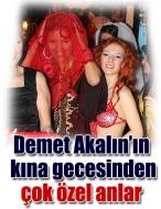 Demet'in kına gecesi