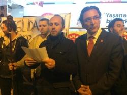 CHP Erzurum'da Soma'yı unutmadı!