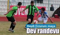Play-Off'ta ver coşkuyu Erzurum!