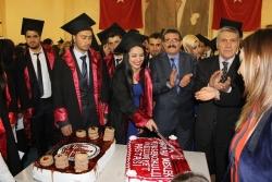 Narman MYO'da mezuniyet çoşkusu