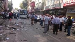 Davutoğlu'ndan HDP saldırılarına sert tepki