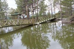 Oltu'da bir doğa harikası: Kütüklü Göl